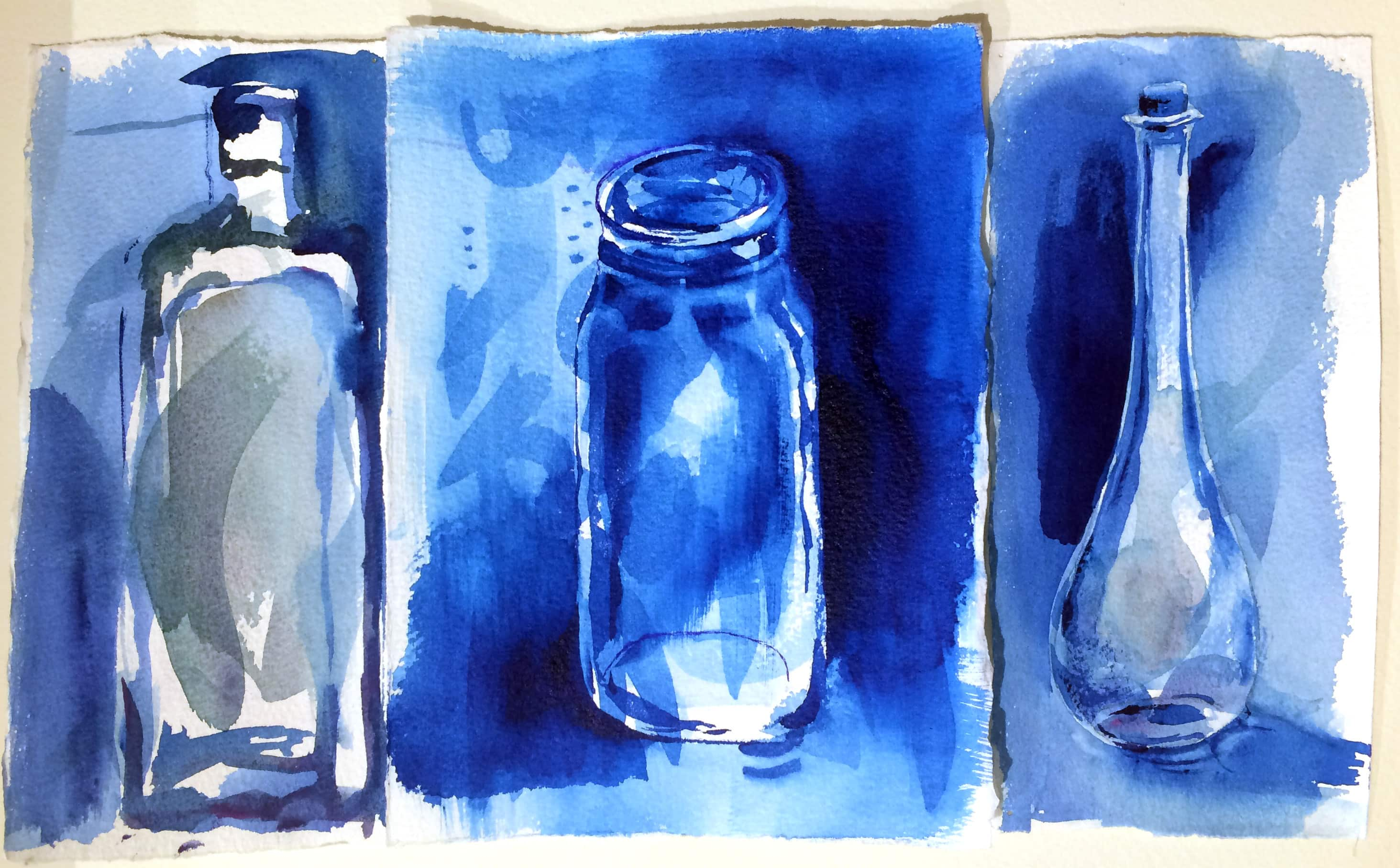 Glass Bottle Painting Materials