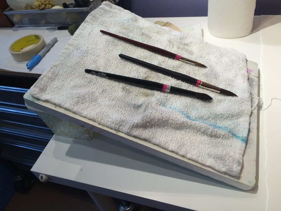 12 Tips for Happy Brushes—How to Care for Your Watercolor Brushes