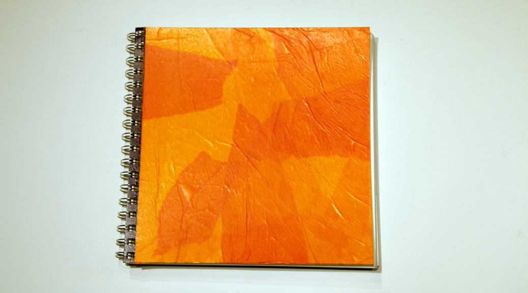 Personalizing Your Journal Cover, Part 2—Especially for Spiral-Bound Journals